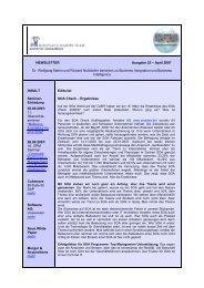 NEWSLETTER Ausgabe 25 – April 2007 Dr. Wolfgang Martin und ...