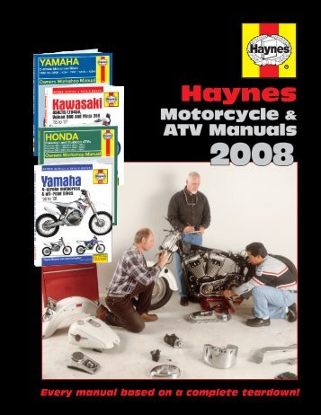 Haynes Manuals, Inc. - Haynes Repair Manuals