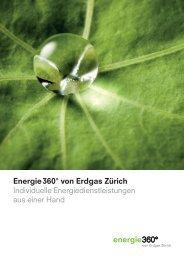 Energie 360° von Erdgas Zürich Individuelle ... - Erdgas Zürich AG
