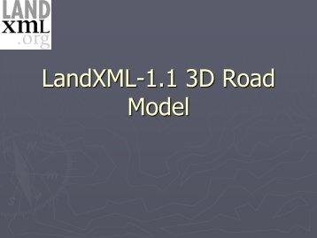 LandXML.org 2006 - BA-Nettverket