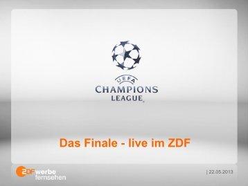 Das Finale - live im ZDF - ZDF Werbefernsehen
