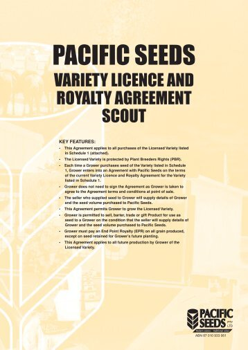PACIFIC SEEDS - Directrouter.com