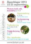 Äppeldagar 2012 22-23 september Linnés Hammarby - Page 2