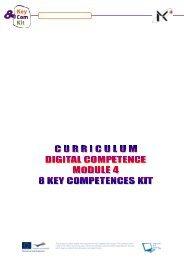 Curriculum Module 4 Digital Competence - Keycompetenceskit.eu