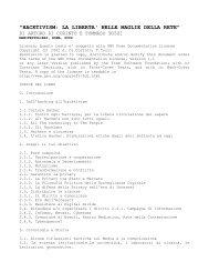 hacktivism: la liberta' nelle maglie della rete - Dvara.Net