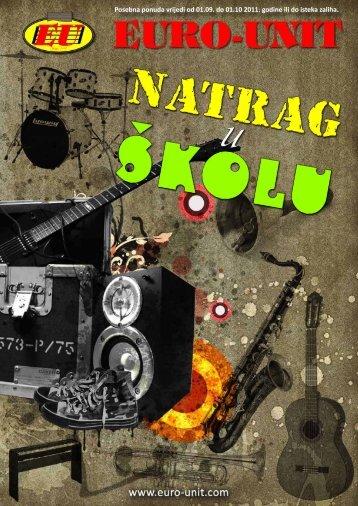 Posebna ponuda vrijedi od 01.09. do 01.10 ... - Euro-Unit music shop