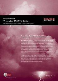 Thunder 9500 Datasheet - Unylogix Technologies Inc.