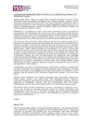 PRESS RELEASE Southampton_ROMANSE_Selects_Aimsun-FINAL