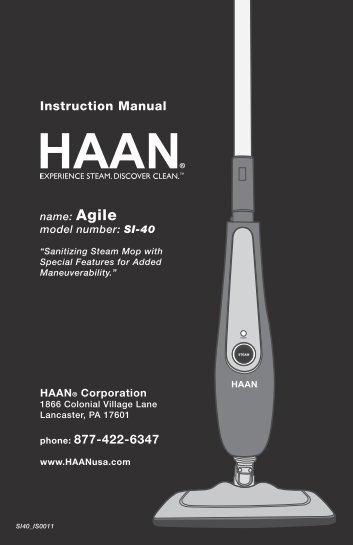 SI40 - HAAN Agile User Manual
