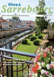 Développement durable : - Site de la Mairie de Sarrebourg