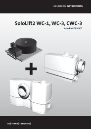 SoloLift2 WC-1, WC-3, CWC-3