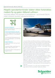 Billund Lufthavn - Schneider Electric