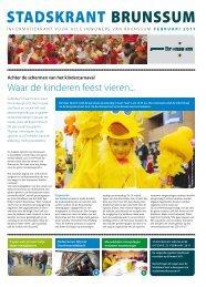 Stadskrant Brunssum, uitgave februari 2011 - Gemeente Brunssum