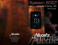Alvarez Guitars A Division of St. Louis Music, Inc. 1400 ... - Pulse Music