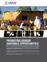 Promoting Gender Equitable Opportunities, Why It Matters