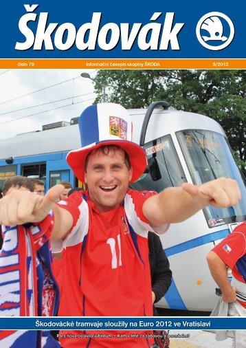 """Škodovák 6/2012 """"pdf"""" - Škoda Holding, a.s."""