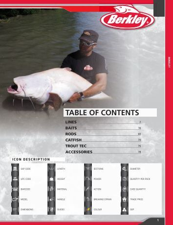 TABLE OF CONTENTS - Fishing Service