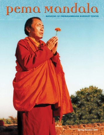 6 Pema Mandala Spring 07:Pema Mandala - Padmasambhava ...
