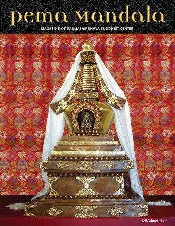 5 Pema Mandala Fall 06 - Padmasambhava Buddhist Center