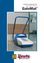 GaloMat® Flyer (416 KB) - TOP REIN