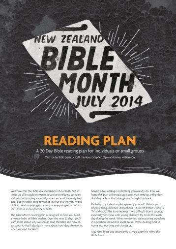 BibleReadingPlan