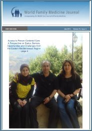 full pdf of issue - Middle East Journal of Family Medicine