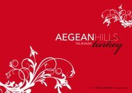 AEGEANHILLS - Braemore Group