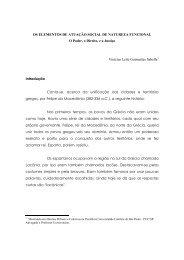OS ELEMENTOS DE ATUAÇÃO SOCIAL DE NATUREZA ...