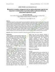 Muscarinic receptor antagonist and an alpha-adrenergic agonist are ...