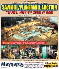 Seehta Mill Auction - Maynards Industries