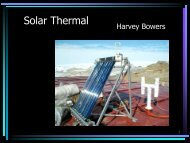 Solar Thermal - Alaska Center for Appropriate Technology