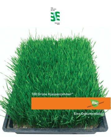 100 Grüne Klassenzimmer® Eine Dokumentation -  IMORDE Projekt ...