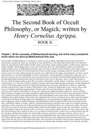The 2nd Book of Occult Philosophy - Henry Cornelius Agrippa.pdf