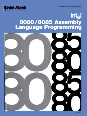 8080/8085 Assembly Language Programming - 1977