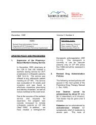 December, 1996 Volume 3, Number 4 UPDATED POLICY AND ...
