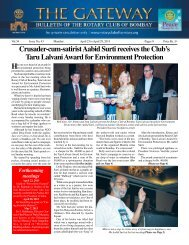 Download PDF - Rotary Club Of Bombay