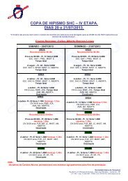 Programa - Sociedade Hípica de Campinas