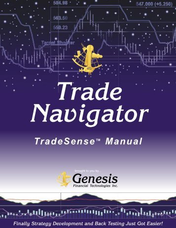 TradeSense™ Manual - Trade Navigator