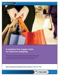 Logistics Services : Case Study DFS | Pacer - PrecisionIR