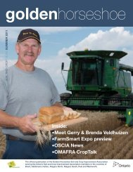 Summer 11 - Ontario Soil and Crop Improvement Association