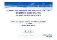 strengths and weaknesses of eu-russia scientific cooperation ... - ISTC