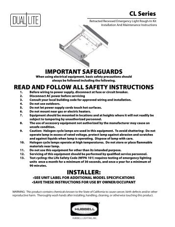 clrk rough in kit installation instructions dual lite?quality\=85 ufo 6w wiring diagram emergency light,w \u2022 indy500 co Wiring Diagram for 277V Lighting at bakdesigns.co