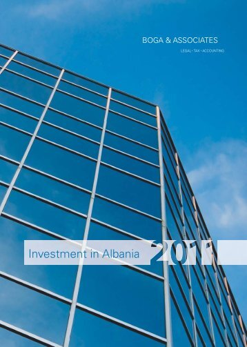 Investment in Albania 2011 (7th Edition) - Bogalaw.com