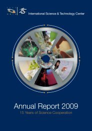 Annual Report 2009 - ISTC