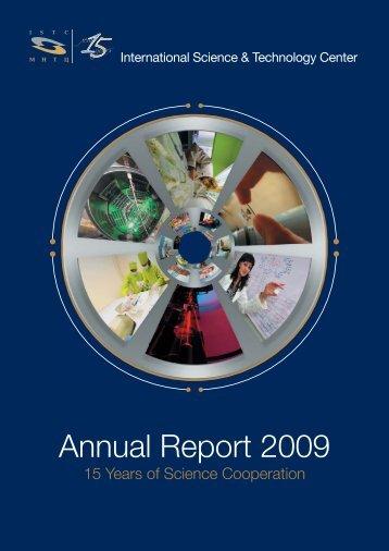 Annual Report 2009 - ISTC