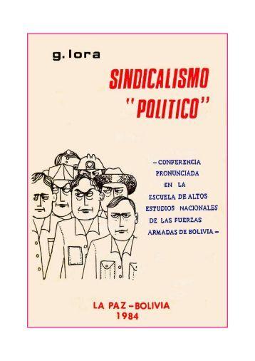 Sindicalismo político.indd - masas.nu