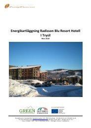 Energikartläggning Radisson Blu Resort Hotell I Trysil - green