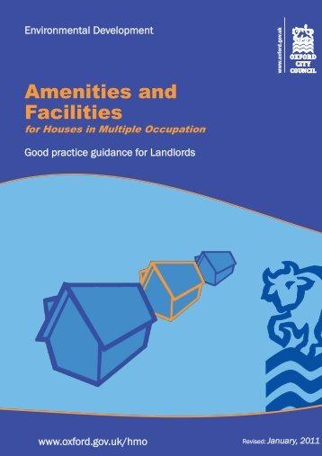 Amenities and Facilities 2011