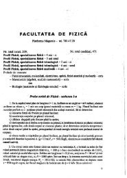 'FACULTATEA DE  = z cà - CIOCP
