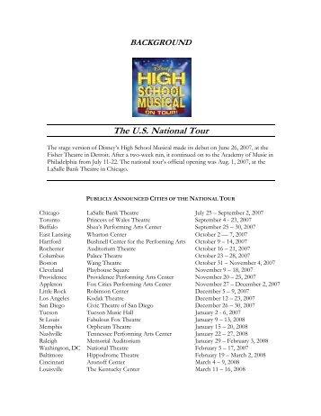 The U.S. National Tour - Starlight Theatre